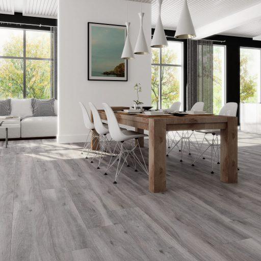 Sherwood Gris Wood Effect Porcelain Tile Roomset