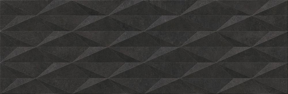 Cubic Black Decor Ceramic Decorative Tile