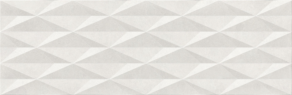 Cubic White Decor Ceramic Decorative Tile