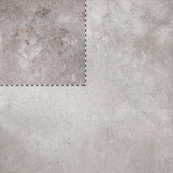 Queenstone Silver Stone Effect Porcelain Tile Sample Swatch