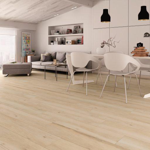 Sherwood Natural Wood Effect Porcelain Tile Roomset