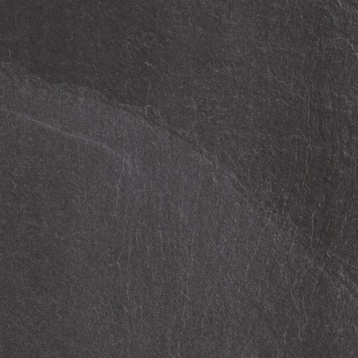 Slide Black Stone Effect Rectified Porcelain Tile