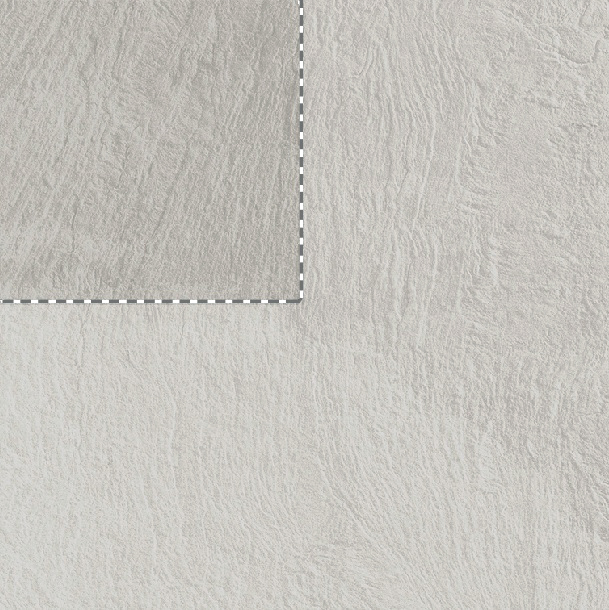 Slide White Stone Effect Rectified Porcelain Tile Sample Swatch