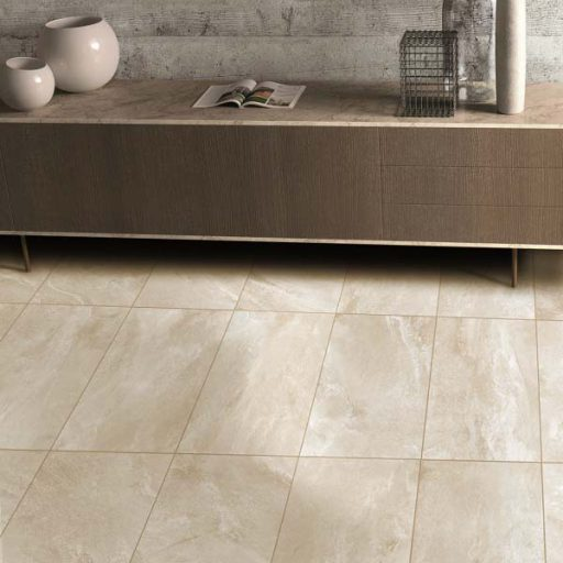 Drift Sand Stone Effect Rectified Porcelain Tile