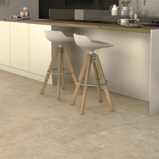 Roxx Beige Stone Effect Rectified Porcelain Multisize Roomset