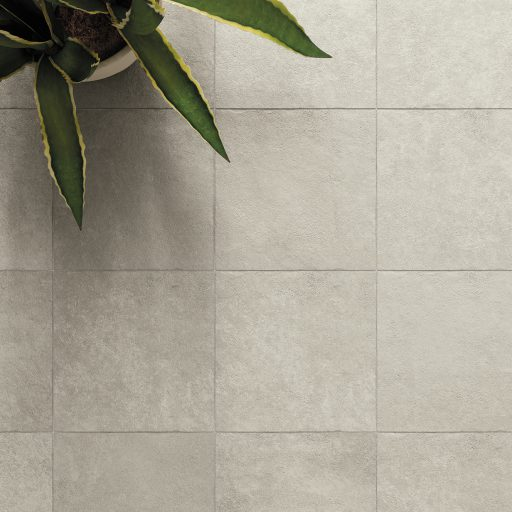 Opus Stone Grigio Multisize Stone Effect Porcelain Tile Roomset