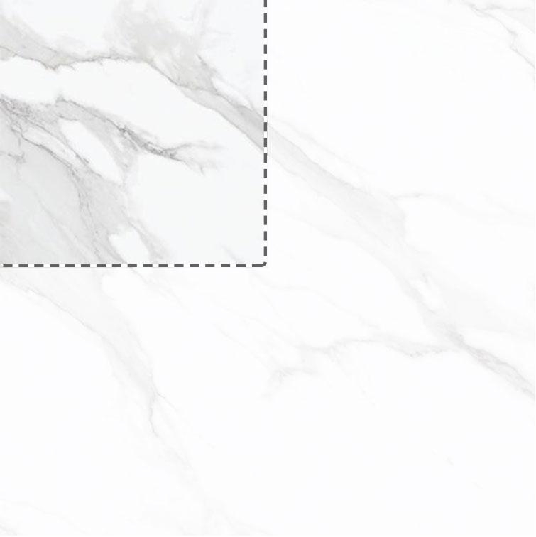 Statuario Polished Porcelain Marble Effect Tile