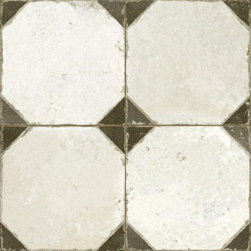 Epsilon Black Tile Individual Vintage Tile