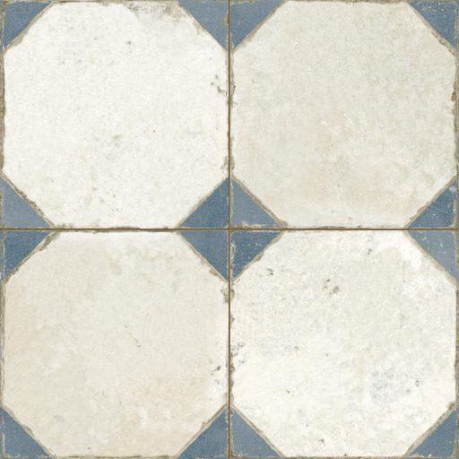 Epsilon Blue Tile Individual Vintage Tile