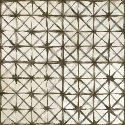 Gamma Black Tile Individual Vintage Tile