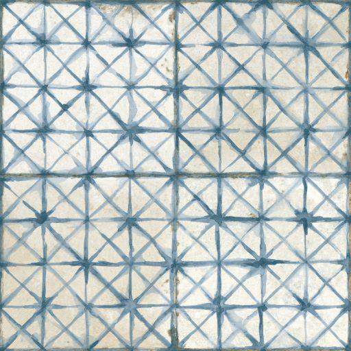 Gamma Blue Tile Individual Vintage Tile