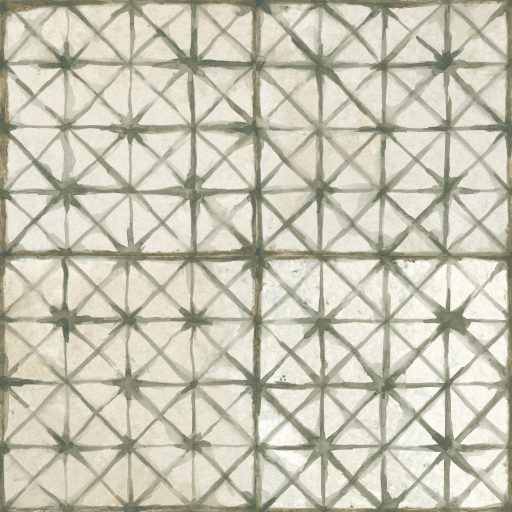 Gamma Sage Tile Individual Vintage Tile