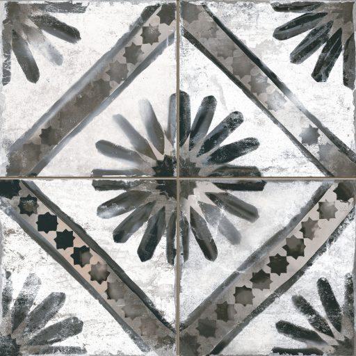 Kappa Grey Tile Individual Vintage Tile