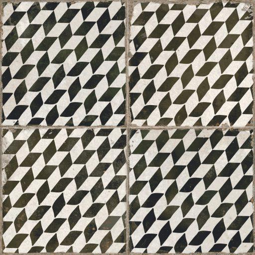 Omega Espiga Tile Individual Vintage Tile