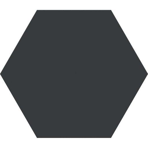 Esagono Nero Hexagon Porcelain Tile