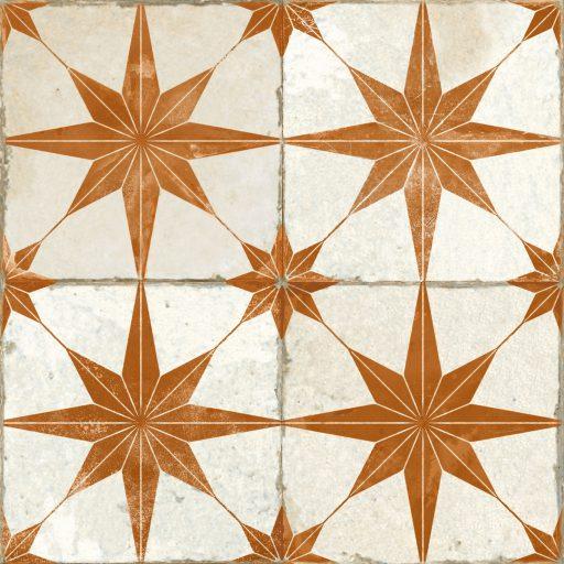 Theta Oxide Tile Individual Vintage Tile