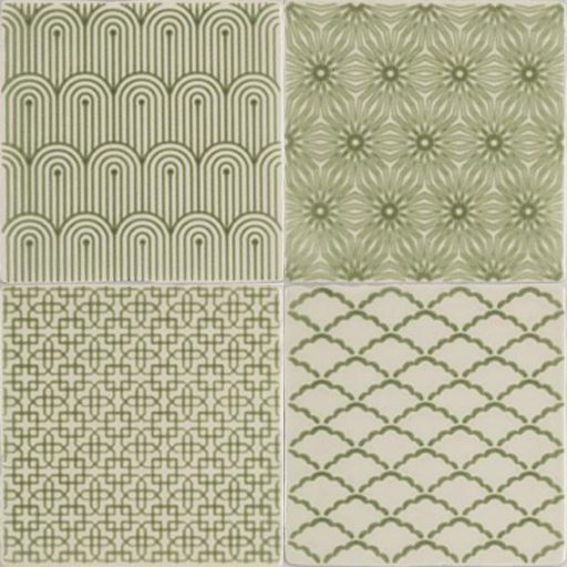 Manoir Pumice Residence Winchester Ceramic Decorative Green